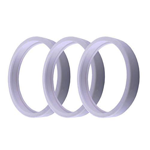 Poweka Neumáticos de Repuesto Adaptables para Robot Limpiafondos Piscina Polaris 180/280/360/380 / C-10 / C10 (3 Piezas)