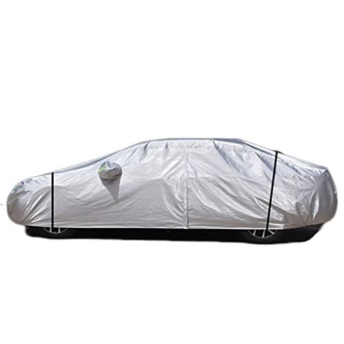 LZL Oxford Cloth Cubierta de Coche Protección UV A Prueba de Viento a Prueba de Polvo Resistente a los rasguños al Aire Libre Universal Cubiertas de Coches completos para Sedan hasta 208 ''