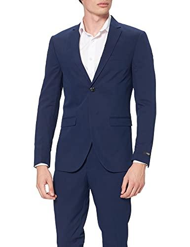 JACK & JONES JPRFRANCO Blazer Noos Set di Pantaloni Eleganti da Lavoro, Blu Medievale, 56 Uomo