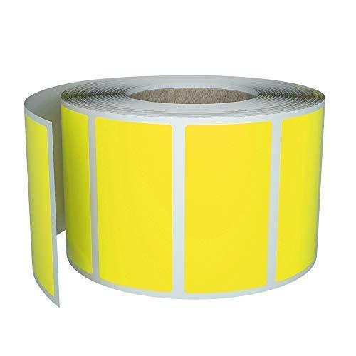 Etiquetas Adhesivas Kraft Rectangulares Marca Royal Green