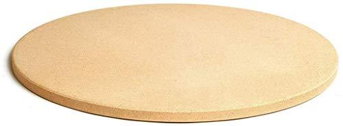 Round Grill Pizza Stone Baking Stone10 / 11/12/13 Inch, Cordieriet Grillen Stone Weerstand Op Hoge Temperatuur, Ideaal Voor Ovens Grills BBQ Pies Pastry Bread,11in