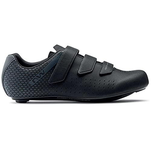Northwave Core 2 Rennrad Fahrrad Schuhe schwarz/grau 2022: Größe: 49