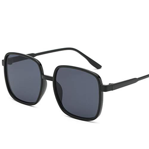 Gafas De Moda Gafas De Sol Vintage Mujer Hombre Gafas De Sol Negro Marrón Marco Gafas De Sol Uv400 C1Fullblack