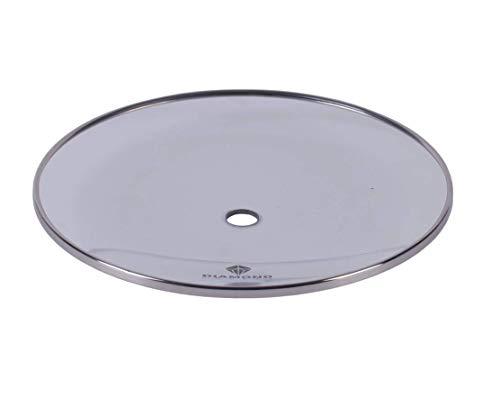 Premium Shisha Glas Kohleteller Mini/groß - Hookah Glas Glaskohleteller für Wasserpfeife 20cm aus Borosilikatglas (Groß)