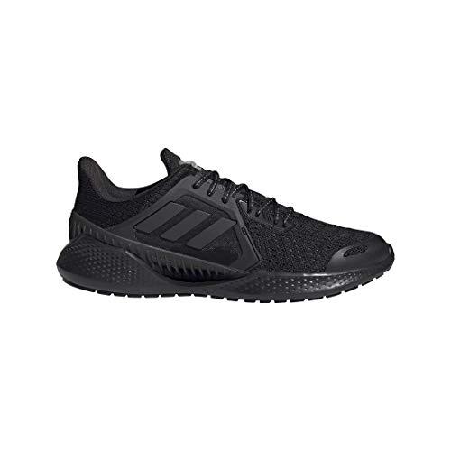 adidas Climacool Vent, Zapatillas de Running Unisex Adulto, NEGBÁS/NEGBÁS/FTWBLA, 43 1/3 EU
