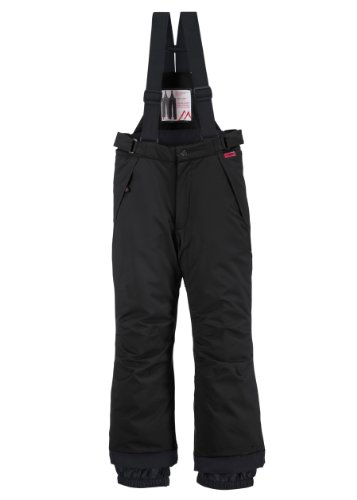 maier sports Kinder Skihose Maxi reg, black, 164
