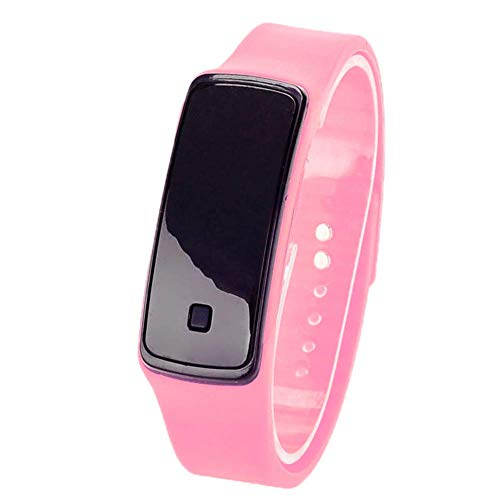 U/K PULABO Unisex LED Digitaluhr Gelee Silikonband Sport Armbanduhr für Jungen Mädchen Herren Damen Armbanduhr tragbar und nützlich praktisch
