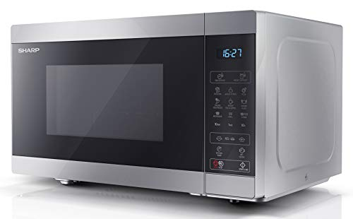 Sharp YC-MG81U-S 28L 900 W Digital Touch Control Microwave with 1100 W...