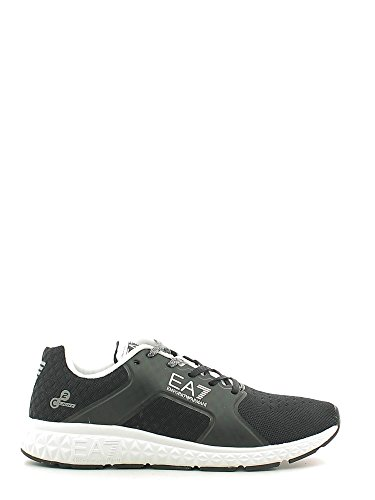 Emporio Armani EA7Herren Schuhe Turnschuhe Sneakers Nuove Orginale Light Spirit schwarz, nd - Größe: 44