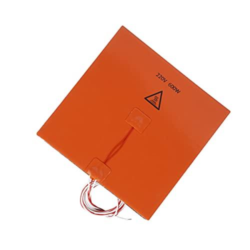 Scicalife 3D Stampante Stampanti Silicone Pad Riscaldato 200W Riscaldamento Piastra 3D Riscaldatore Letto di Accelerazione Bordo di Isolamento Termico in Silicone con Adesivo 200X200mm