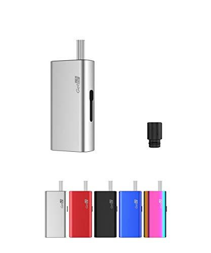 電子タバコ 加熱式たばこ ヴェポライザー Airistech Gethi G6 葉タバコ シャグ Vaporizer ドライハーブタバコ エアリステック オマケ付き (シルバー)