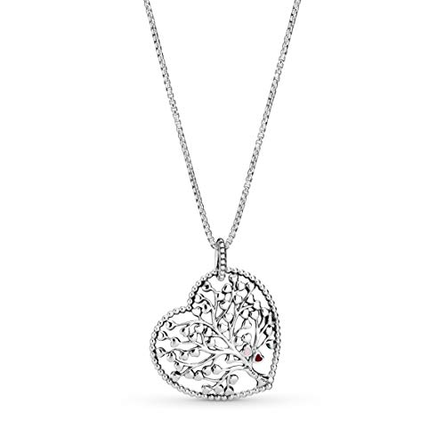 """Pandora Jewelry Tree of Love Sterling Silver Necklace, 29.5"""""""