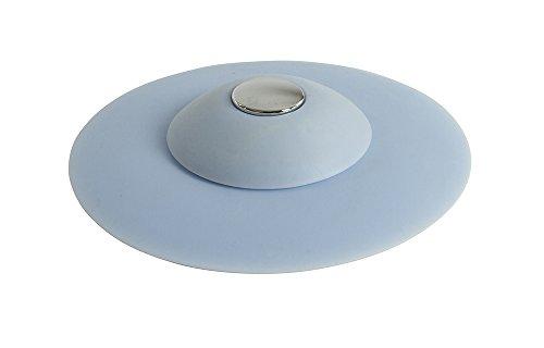Sophisticlean Silicone Bathtub Stopper, Bathtub Drain Plug Cover, Hair Stopper