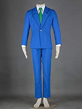 U/D HLIAN Detective Conan Suit Cosplay Costume Conan Edogawa Jimmy Kudo Uniform COS Clothing Holiday Party Costume  Color   SET2 Size   2XS