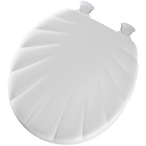Bemis B22EC000 Round Closed Front Molded Wood Toilet Seat with Shell Cover in by Bemis Toilet Seats