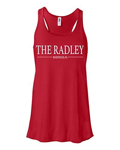 Pretty Little Liars The Radley PLL Merchandise Flowey Tank Top For Women (Red, XX-Large)