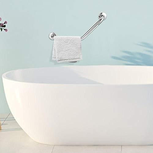 FOTABPYTI Haltegriff für Badezimmer, DREI biegsame Edelstahl-Toiletten-Haltegriffe für rutschfeste Badewannen-Handläufe für ältere Menschen