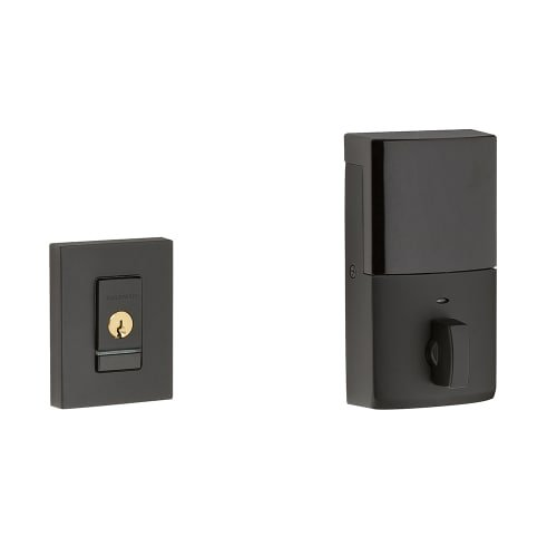 Contemporary Satin Smart Deadbolt