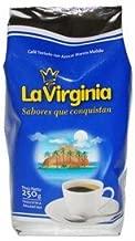 La Virginia Cafe Tostado con Azucar Blanco Molido 250grs 3 Pack