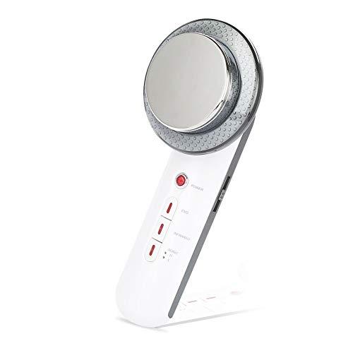 Sonew Máquina de Masaje ultrasónico Cuerpo multifunción Que Adelgaza el Estiramiento Facial Cuidado de la Piel pérdida de Peso Anti Celulitis EMS Dispositivo de Belleza de Mano(US Plug)