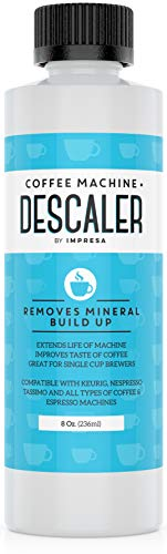 Keurig Descaler (2 Uses Per Bottle) - Made in the USA - Universal Descaling Solution for Keurig, Nespresso, Delonghi and All Single Use Coffee and Espresso Machines