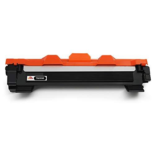 Mony Compatible Cartuchos de Tóner para Brother TN1050 TN-1050 Compatible con Brother DCP-1510 HL-1110 DCP-1612w MFC-1910w MFC-1810 HL-1210w DCP-1610w HL-1212w DCP-1512 HL-1112 Impresoras (2 Negro)