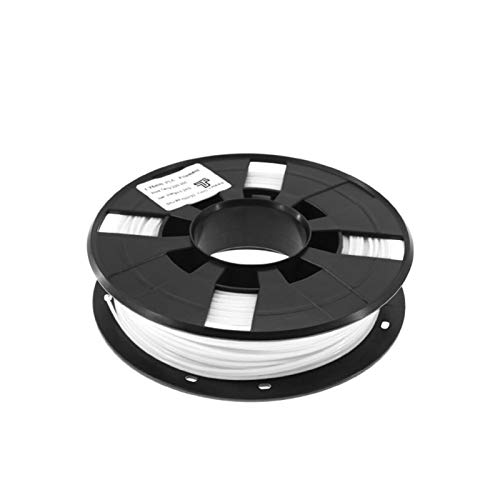 Printing Filament,Printer Filament 3D Printer Filament More Colors Optional PLA/ABS 1.75mm Plastic Rubber Consumables Material 0.2/KG (Color : PLA White)