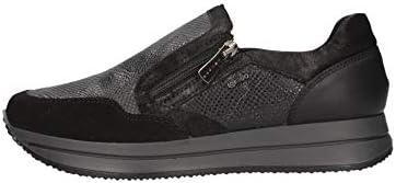 Igi/&co Sneakers Pelle//camoscio Donna Nero 6164933