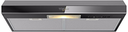 Whirlpool WH8010B Campana Empotrable, color Negro, 80 Cm