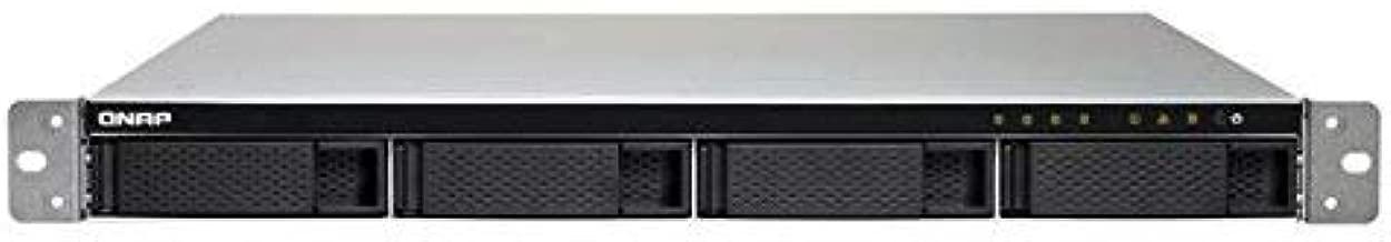 QNAP TS-432XU-2G-US Alpine AL-324 ARMv8 Cortex-A57 1.7GHz/2GB DDR4/4GbE/4SATA3/USB3.1/4-Bay 1U Rackmount NAS for SMB