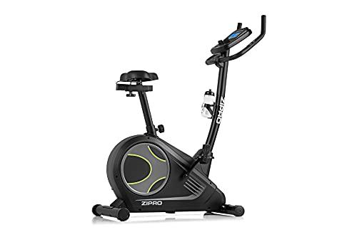 Zipro Bicicleta estática magnética para adultos Flame con iConsole, color negro, talla única, 6299206