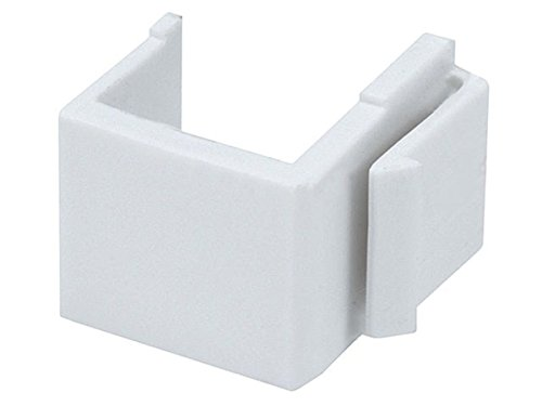 Monoprice Blank Insert for Wall Plate White) (3 Packs of 10)