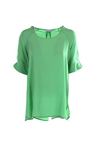 BEATRICE B Blusa Donna 42 Verde 20fe4626torre 1/20 Primavera Estate 2020