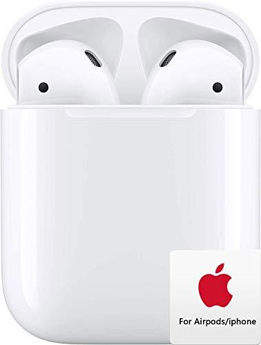 Auriculares Bluetooth,Auriculares Inalámbricos Bluetooth táctiles, Auriculares estéreo Bluetooth IPX7 a Prueba de Agua, con Estuche de Carga para Apple Airpods Android iPhone