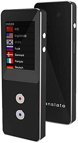 Beweglicher Sprach Sprache Übersetzer, 2,4-Zoll-IPS-Bildschirm Real-Time Bidirektionale Converter Unterstützt 4G / WiFi/Offline-Online-Dolmetscheinrichtung kyman (Color : A)