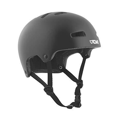 TSG Kinder Helm Nipper Maxi Solid Color Halbschalenhelm, satin black, XXS/XS