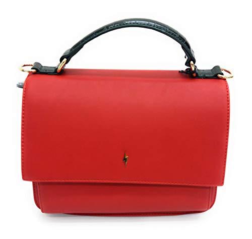 Pauls Boutique London Damen-Accessoires Rot/Grün PBN127891, Rot Einheitsgröße