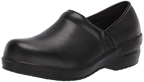 Spring Step Professional Women's Selle Uniform Dress Shoe, Black, 9