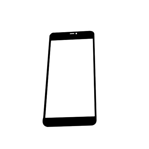 Vetro frontale display UU Fix per Nokia Microsoft Lumia 640X L (Nero) Schermo esterno lastra di vetro copriobiettivo Display Schermo gehartetem Pellicola in Vetro Temperato Pellicola Protettiva di VETRO TEMPERATO PELLICOLA Glass con set di attrezzi