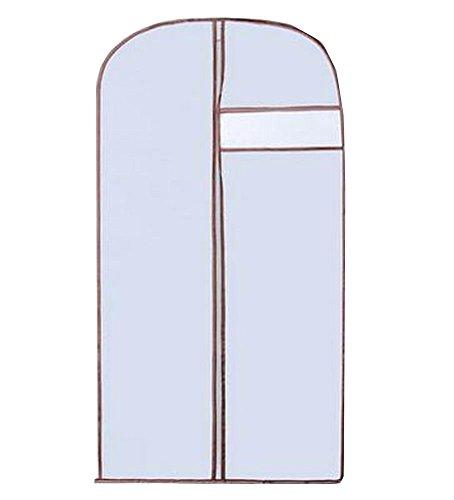 Set von 3 Kleider Aufbewahrungsbeutel Deckel Staub Proof Taschen [Grau]