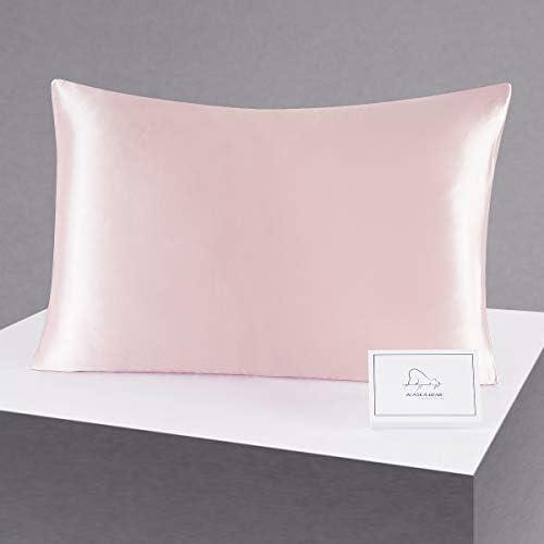 ALASKA BEAR Silk Pillowcase for Beauty Sleep Pure Genuine 22 Momme Mulberry Silk Crepe Pillow product image