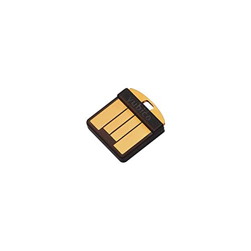 Yubico YubiKey 5 Nano - Two Factor Authentication USB Security Key, Fits USB-A Ports - Protect Your Online Accounts with More Than a Password, FIDO Certified USB Password Key, Extra Compact Size