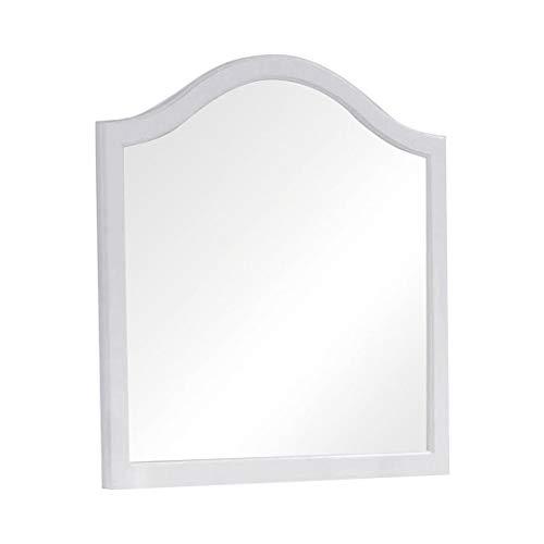 Coaster Home Furnishings White Dominique Dresser Mirror