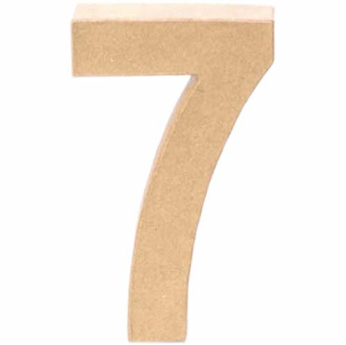 Creative P - Nombre 7, 17, 5x5, 5cm [Jouet]