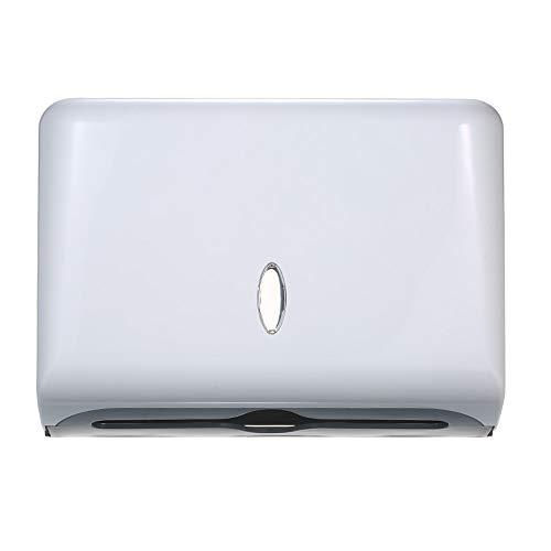 Papierhandtuchspender Wandmontage Papierhandtuchhalter Box Spender Badezimmer Toilette Tissue Spender Küchenpapier Handtuchspender für Hotel Restaurant Home Badezimmer