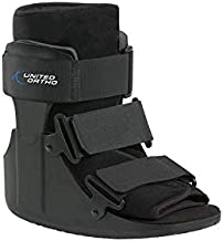 United Ortho USA14013 Short Cam Walker Fracture Boot, Small, Black