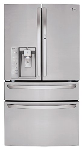 LG LMXS30776S30.0 Cu. Ft. Stainless Steel French Door Refrigerator - Energy Star
