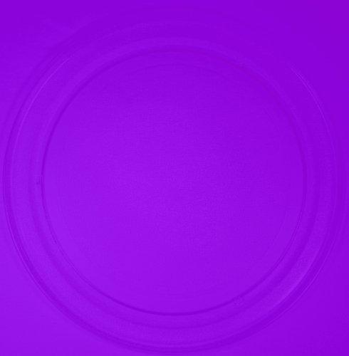 Mikrowellenteller / Drehteller / Glasteller für Mikrowelle # ersetzt Musterring Mikrowellenteller # Durchmesser Ø 36 cm / 360 mm # Ersatzteller # Ersatzteil für die Mikrowelle # Ersatz-Drehteller # OHNE Drehring # OHNE Drehkreuz # OHNE Mitnehmer
