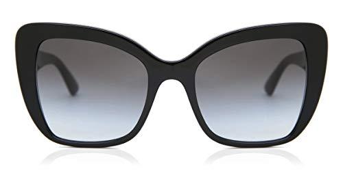 Dolce Gabbana 0DG4348 501/8G Sonnenbrille, Schwarz (Black), 54