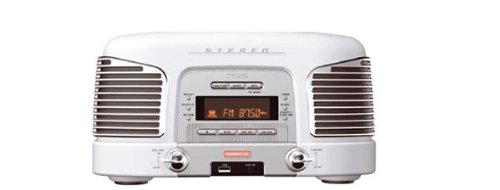 Teac SL-D 910 Kompaktanlage (CD-/MP3-Player, UKW-/MW-Tuner, Digital-Uhr, Alarm-Funktion, USB 2.0) weiß
